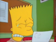 Bart starts to cry