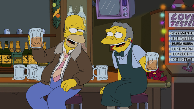 Image - I Won't Be Home For Christmas promo 1.jpg | Simpsons Wiki ...