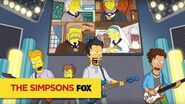 """THE SIMPSONS The Future Of Music from """"Friend with Benefit"""" ANIMATION on FOX"""