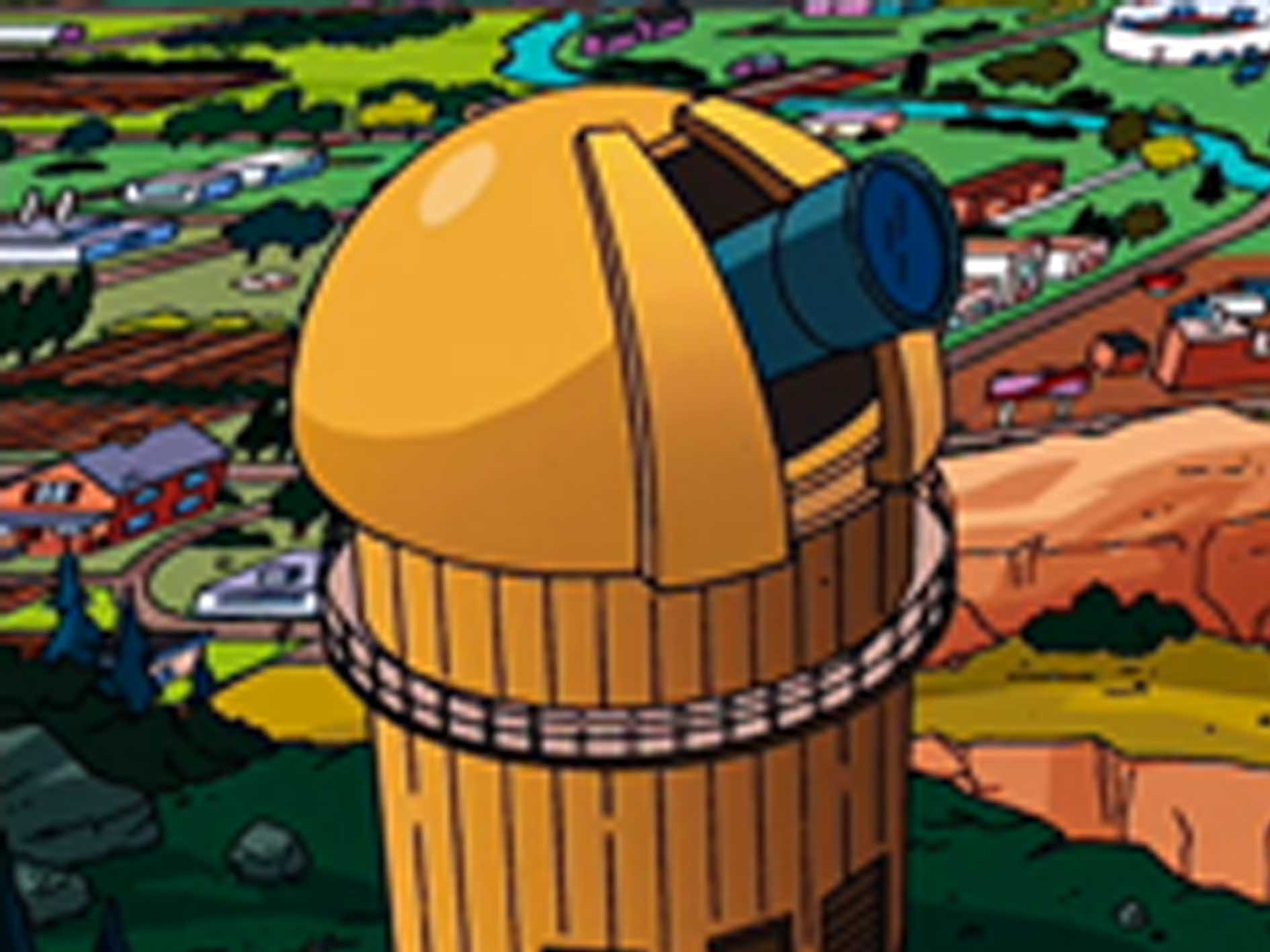 springfield observatory simpsons wiki fandom powered