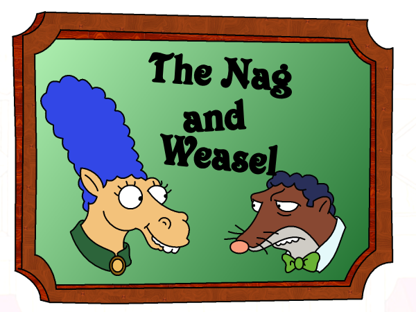 File:The Nag and Weasel by LeeRoberts.png