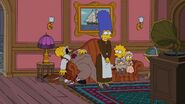 Politically Inept, with Homer Simpson Couch gag 5