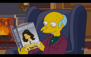 Mr Burns Tina Fey
