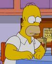 Homer sad