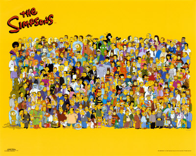 File:Simpsons cast poster.jpg