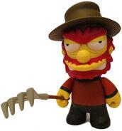 Freddy Krueger Willy-Matt Groening-Simpsons-Kidrobot-trampt-116362m