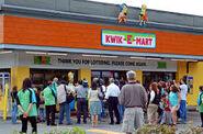 The Simpsons Movie Premiere Kwik-E-Mart taking over Seven Eleven