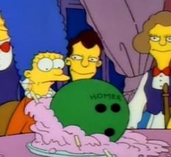 Homer bowlingball
