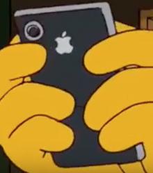 Homer's MyPhone