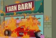 The Simpsons Yarn Barn
