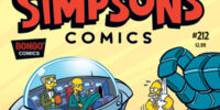 Simpsons Comics 212
