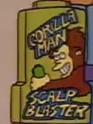 Gorilla Man Scalp Blaster