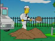 Scooping dirt