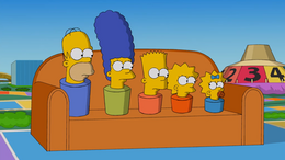 Game of Life Couch Gag