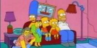 Groening's Signature couch gag