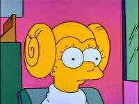 Lisa as Leia