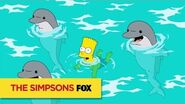 THE SIMPSONS A Whale Of A Good Time ANIMATION on FOX