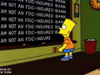 I am not an FDIC-insured bank