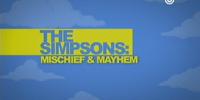 Simpsons - Mischief & Mayhem