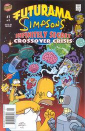 Futurama Simpsons Infinitely Secret Crossover Crisis