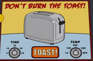 Don't Burn the Toast!
