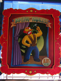 File:The Simpsons Ride Impervo the Painless Poster.jpg