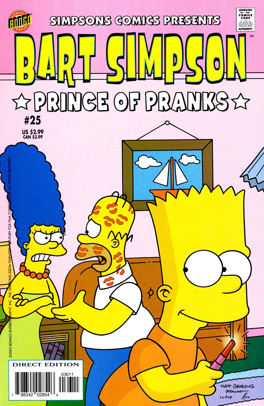 Image - Bart Simpson-Prince of Pranks.JPG | Simpsons Wiki