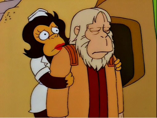 Image result for Dr Zaius troy mcclure