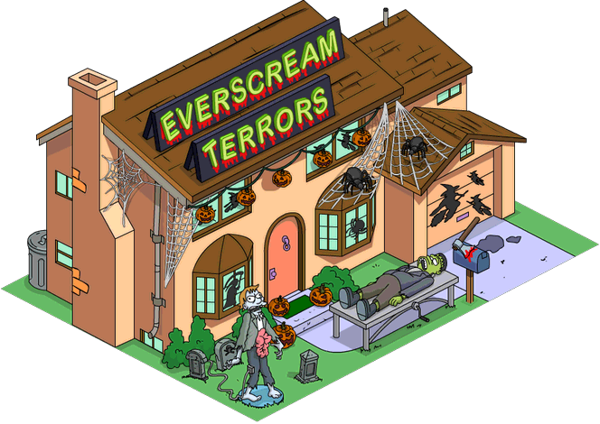 image everscream terrors tapped simpsons wiki. Black Bedroom Furniture Sets. Home Design Ideas