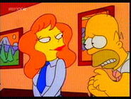 Mindy and Homer