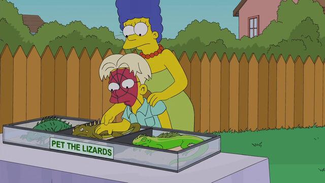 File:Petting Lizards.JPG