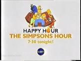 Network Ten - Simpsons Happy Hour promo slide (2003)