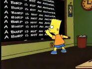 Chalk gag a burp is not an answer