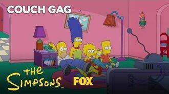 Big Bang Theory Couch Gag Season 28 Ep. 19 THE SIMPSONS