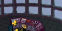 Burns' Surveillance Room