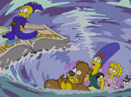 The Simpsons Disney Couch Gag