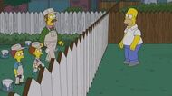 """THE SIMPSONS Reorder That Border from """"Bull-E"""" ANIMATION on FOX"""