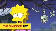 "THE SIMPSONS Lost from ""Halloween of Horror"" ANIMATION on FOX"