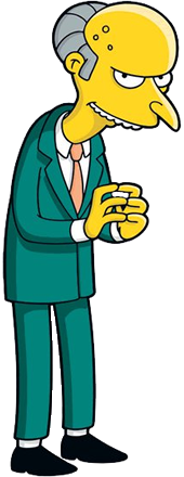 Image result for simpsons mr burns