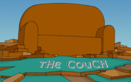 Exit Through Kwik-E-Mart Couch Gag 1