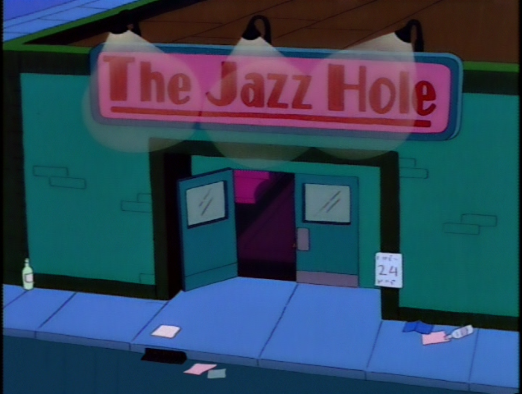 Image result for the jazz hole simpsons