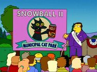 Snowball II Municipal Cat Park