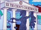 Six Toe County Courthouse