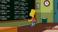 Donnie Fatso Chalkboard Gag