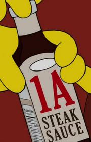 1 A steak sauce