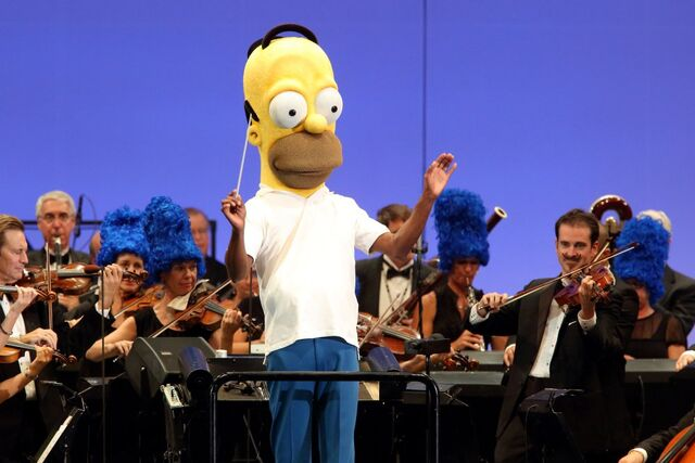 File:The Simpsons take the bowl - homer band.jpg