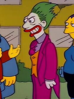 The Joker - Simpsons