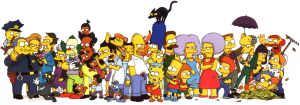 File:Simpsons cast.png