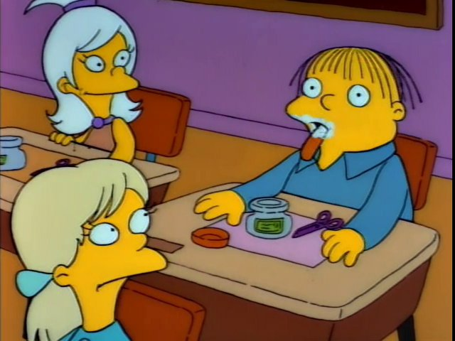 TIL Ralph Wiggum was not canonically made to be Chief Wiggum's son until season 4. The two characters were developed independently and only later the writers decided to make them father and son.