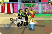 Simpsons app bart powerup